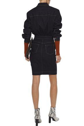 STELLA McCARTNEY Denim mini dress