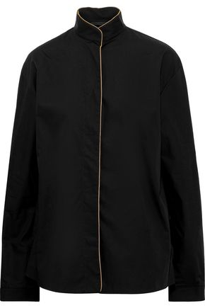 HAIDER ACKERMANN Cotton-poplin shirt