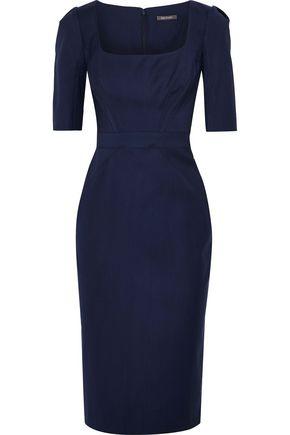 ZAC POSEN Wool-cady dress