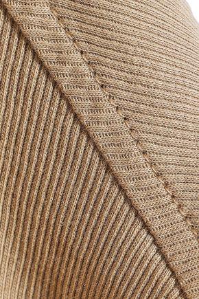 HAIDER ACKERMANN Ribbed cotton-jersey tunic