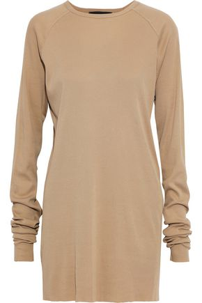 HAIDER ACKERMANN Ribbed cotton-jersey tunic