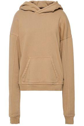 HAIDER ACKERMANN French cotton-terry hooded sweatshirt