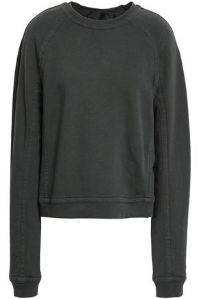 HAIDER ACKERMANN French cotton-terry sweatshirt