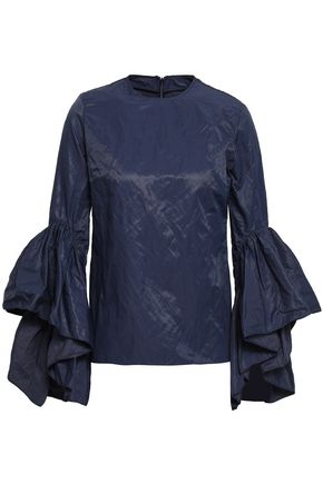 MARQUES' ALMEIDA Crinkled taffeta top