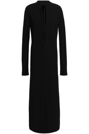 HAIDER ACKERMANN Cutout crepe midi dress