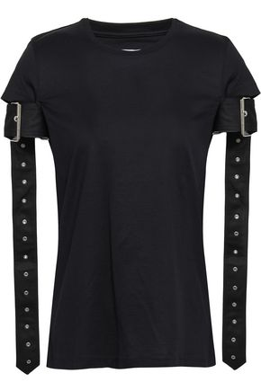 MARQUES' ALMEIDA Cutout cotton-jersey T-shirt