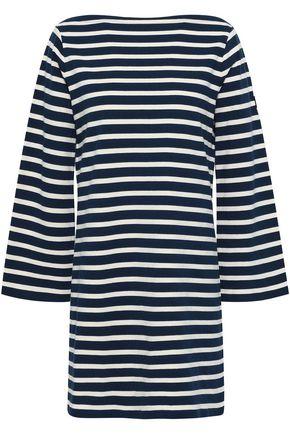 MARC JACOBS Striped cotton-jersey mini dress