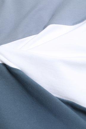 BRUNELLO CUCINELLI Striped French cotton-blend terry sweatshirt
