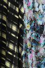 PREEN LINE Kara paneled printed crepe de chine midi dress
