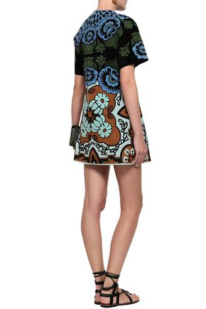 VALENTINO Suede mini dress