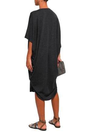 BRUNELLO CUCINELLI Cashmere and silk-blend tunic