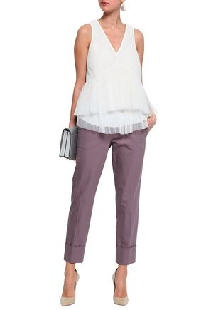 BRUNELLO CUCINELLI Layered tulle top