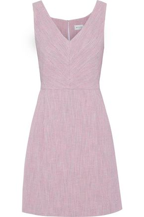 MILLY Coco cotton-blend tweed mini dress