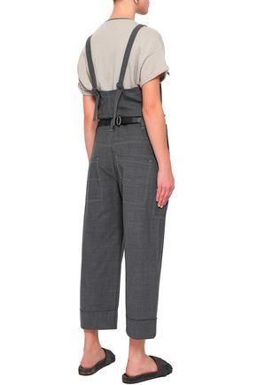 BRUNELLO CUCINELLI Bead-embellished wool-blend jumpsuit