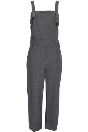 BRUNELLO CUCINELLI Bead-embellished wool-blend jumpsuit
