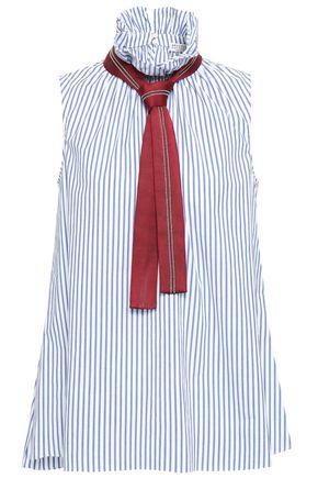 BRUNELLO CUCINELLI Animal-print stretch-jersey maxi dress