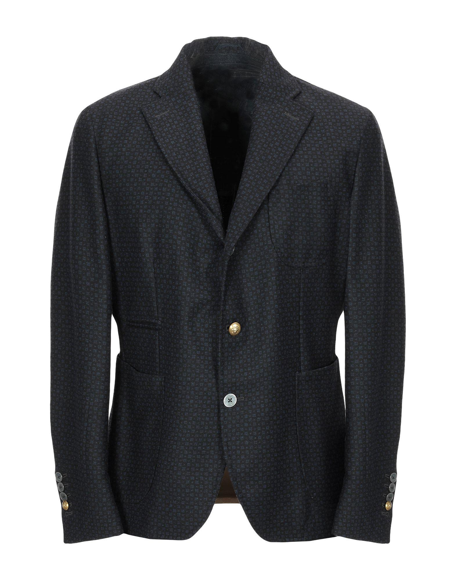 《送料無料》JOHN SHEEP メンズ テーラードジャケット ダークブルー 52 コットン 100%