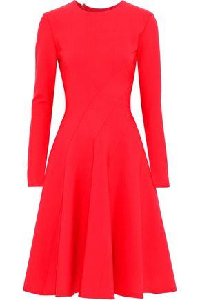 OSCAR DE LA RENTA Stretch-wool dress