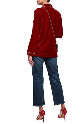 VALENTINO Velvet shirt