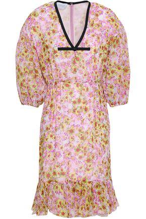 GIAMBATTISTA VALLI Ruffled floral-print silk-organza dress