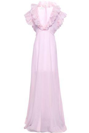 GIAMBATTISTA VALLI Ruffled silk-chiffon gown