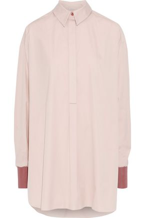 ROKSANDA Oversized cotton-poplin tunic