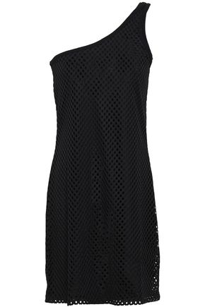 OPENING CEREMONY One-shoulder mesh mini dress