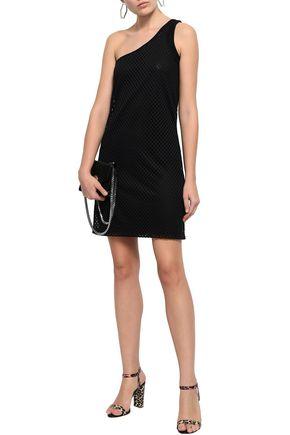 OPENING CEREMONY One-shoulder mesh mini dress