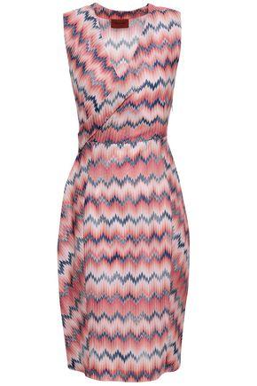 MISSONI Jacquard-knit dress