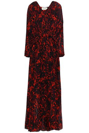 BY MALENE BIRGER Printed chiffon maxi dress