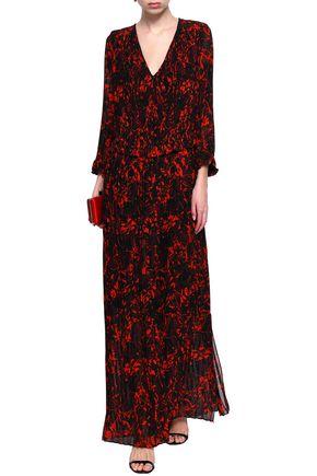 BY MALENE BIRGER Printed chiffon maxi dress