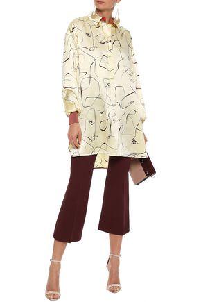 ROKSANDA Siara printed silk-satin tunic