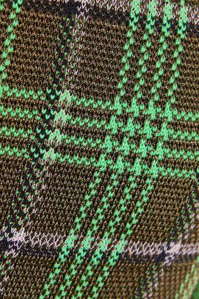 M MISSONI Checked Jacquard-knit top