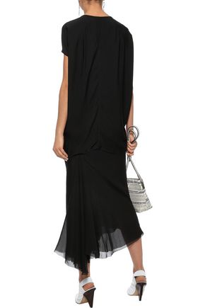 RICK OWENS Crepe de chine tunic