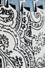 ETRO Belted paneled printed silk-crepe dress