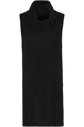 RICK OWENS Draped cashmere tunic