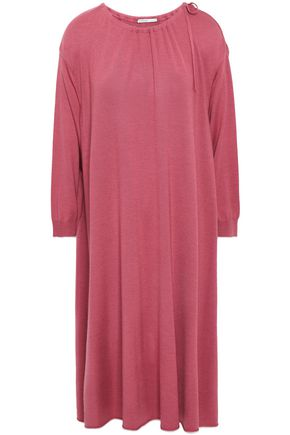 AGNONA Wool, cashmere and silk-blend midi dress