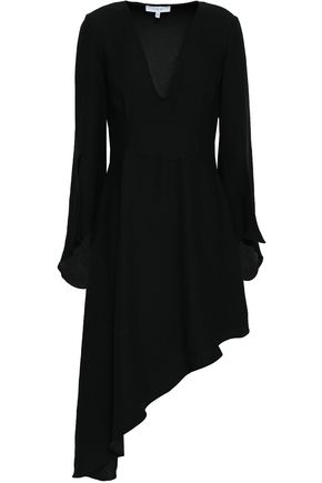 IRO Hervey asymmetric crepe dress