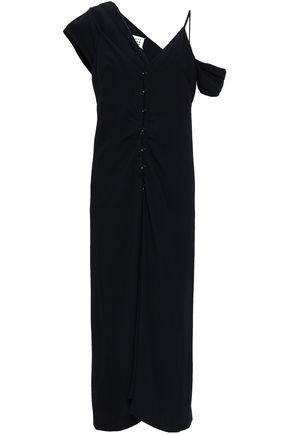 MAISON MARGIELA Layered cady midi dress