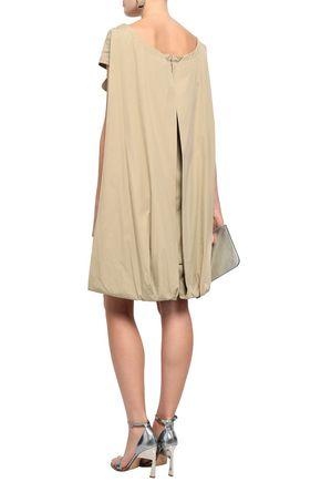 MAISON MARGIELA Cape-effect cotton mini dress