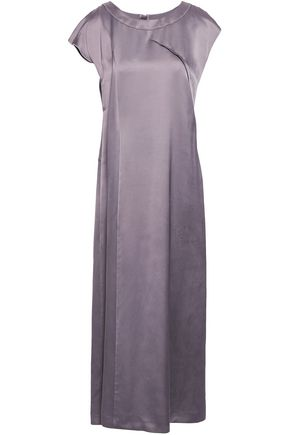 MAISON MARGIELA Satin midi dress