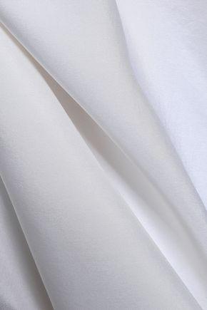 MAISON MARGIELA Embroidered silk mini dress