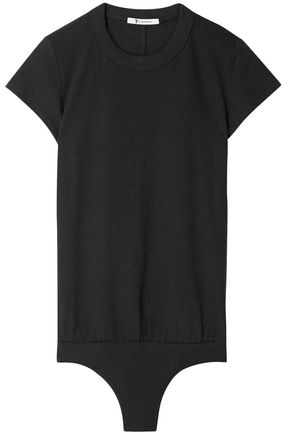 ALEXANDERWANG.T Cotton-jersey bodysuit