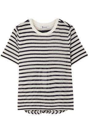 ALEXANDERWANG.T Striped slub jersey T-shirt
