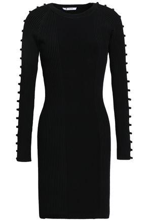 ALEXANDERWANG.T Cutout stretch-knit mini dress