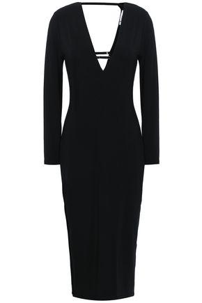 ALEXANDERWANG.T Cutout stretch-modal jersey midi dress