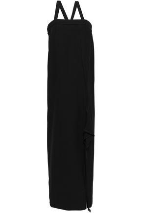 MAISON MARGIELA Draped twill maxi dress