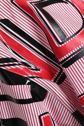 MAISON MARGIELA Striped printed cotton-poplin shirt