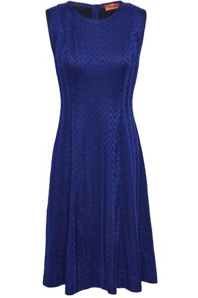 MISSONI Flared knitted dress