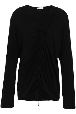 IRO Ruched jersey top